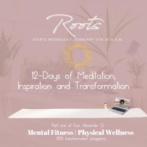 Roots 12 Days of Meditation