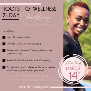 Roots to Wellness Challenge